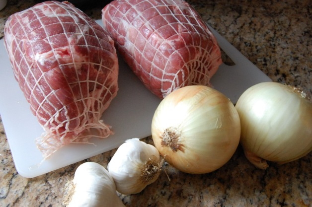 Slow Cooker BBQ Pulled Pork Ingredients