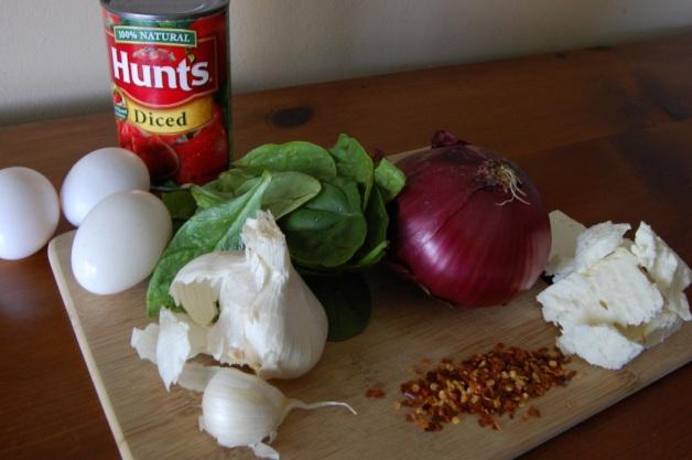 Eggs in Purgatory Ingredients