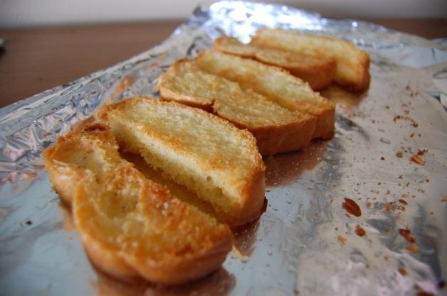 Eggs in Purgatory: Make Breadsticks
