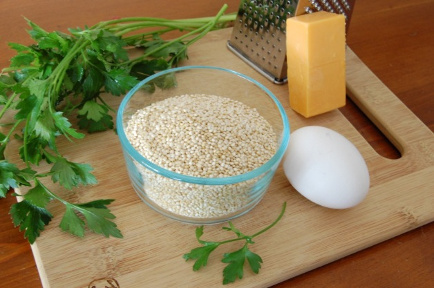 Quinoa Grits Ingredients