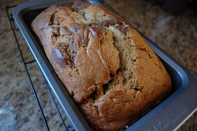 19 Ghirardelli Squares Chocolate Coffee Bread Cool in Pan